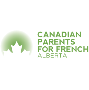 Canadian Parents for French alberta logo